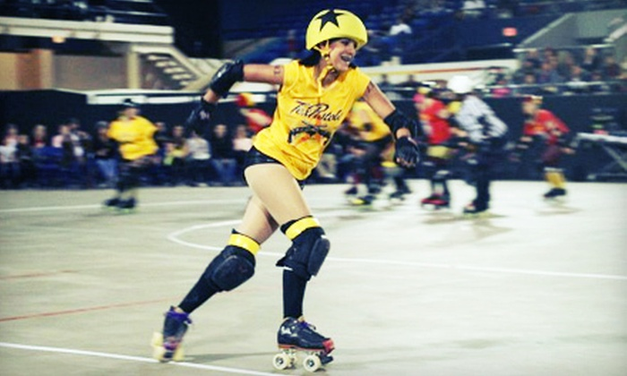 El Paso Roller Derby Presents St. Smacktrick's Day - El Paso: Two or Four Tickets to El Paso Roller Derby's St. Smacktrick's Day (Half Off)