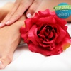 Up to 57% Off One or Three Mani-Pedis