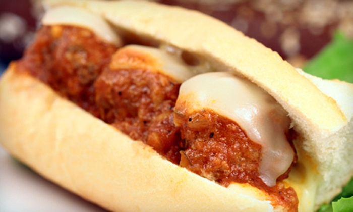 Joe Fassi Sausage and Sandwich Factory - The Hill: 3-Foot Party Sub or 6-Punch Card Good for Casual Italian Fare at Joe Fassi Sausage and Sandwich Factory (Up to 52% Off)