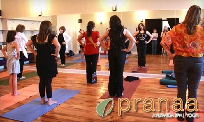 Pranaa Ayurveda Spa & Yoga - Plano: $119 for a Relaxation Package at Pranaa Ayurveda Spa & Yoga in West Plano