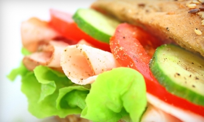 Bada Bingg - Allentown: $5 for $10 Worth of Gourmet Sandwiches and Salads at Bada Bingg