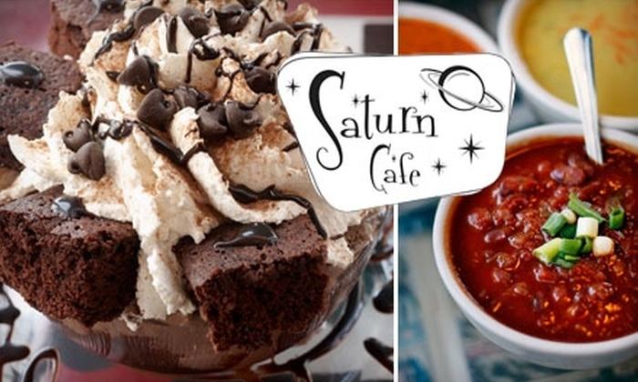 Saturn Café - Central Santa Cruz: $10 for $20 Worth of Vegetarian Food, Drinks, and Treats at Saturn Café