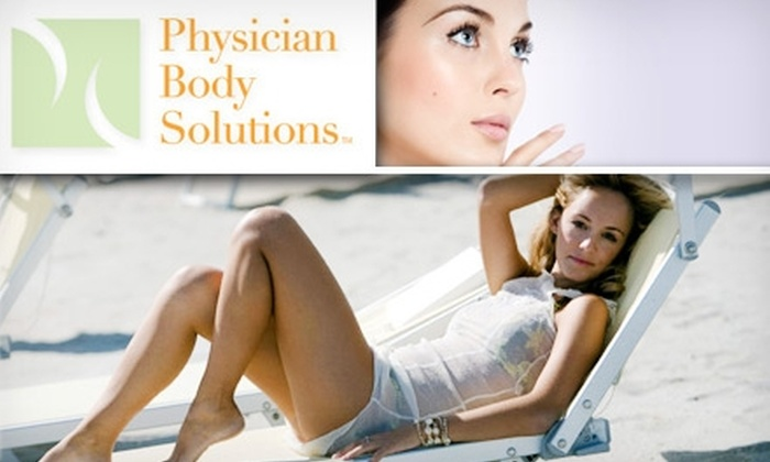 Physician Body Solutions - Multiple Locations: $60 Laser Hair Removal or Chemical Peel From Physician Body Solutions ($150+ Value)