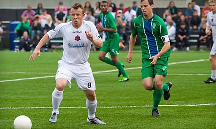 Capital City Football Club - Riverside Park: Two Adult Admissions or Family Pack of Two Adult and Two Child Admissions to Capital City Football Club of Ottawa