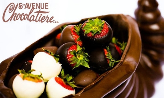 5th Avenue Chocolatiere: $20 for $40 Worth of Chocolates Online from 5th Avenue Chocolatiere
