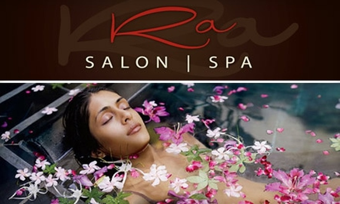 Ra Salon Spa - Downtown Redmond: $55 for $110 Worth of Select Spa Services or $69 for a Highlight and Style ($155 Value) at Ra Salon Spa