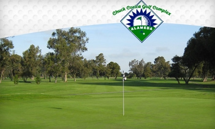Chuck Corica Golf Center - Alameda: $55 for 18 Holes of Golf for Two People at Chuck Corica Golf Center in Alameda (Up to a $110 Value)