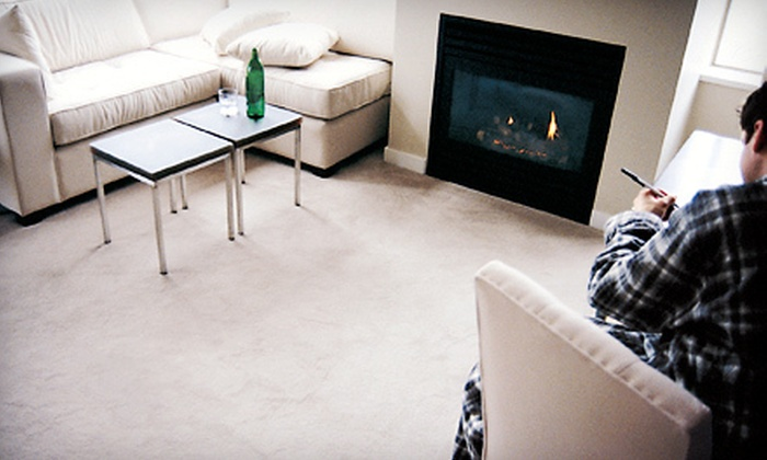 Byrge Carpet Cleaners - Dayton: Carpet Cleaning for Three Rooms or Upholstery Cleaning for Couch and Chair from Byrge Carpet Cleaners (Up to 77% Off)