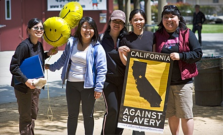 California Against Slavery: Move to Stop Modern Day Slavery! Walk-A-Thon and Race on Sun., Aug. 28 at 7:30AM - California Against Slavery in San Diego