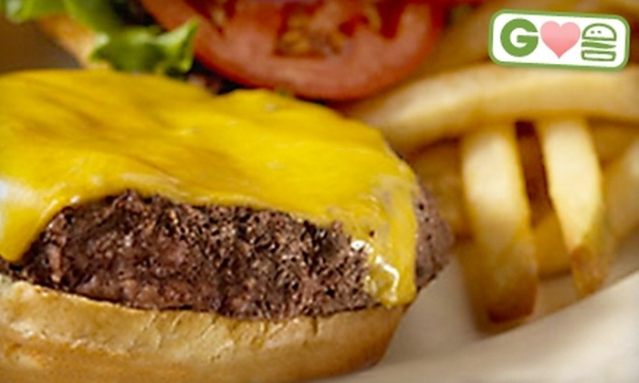 Locos Grill & Pub - Columbus: $5 for Burger and Side of Fries at Locos Grill & Pub (Up to $9.49 Value)