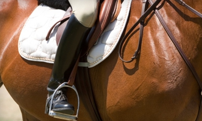 East Cobb Stables - Northeast Cobb: $45 for a One-Hour Riding Lesson ($100 Value) or $20 for a 30-Minute Pony Ride (Up to $40 Value) at East Cobb Stables in Marietta