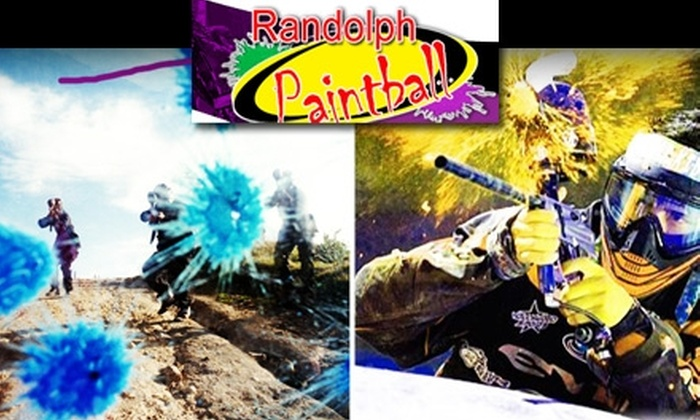 Randolph Paintball - Multiple Locations: Paintball Outing with Equipment and 200 Paintballs at Randolph Paintball in Randolph, Holbrook, or Plainville. Choose from Two Options.
