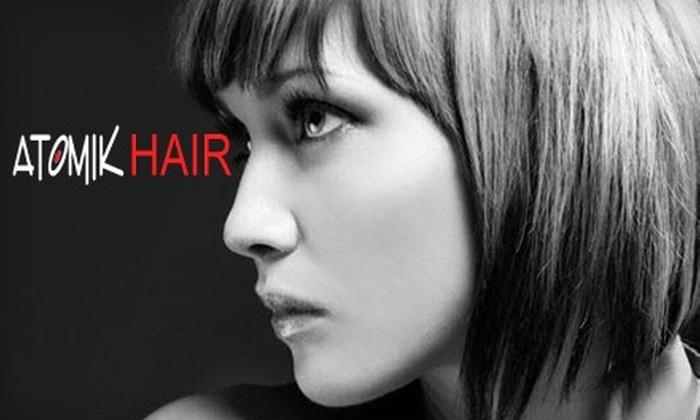 Atomik Hair Designs - Washington: $35 for $80 Worth of Services at Atomik Hair Designs