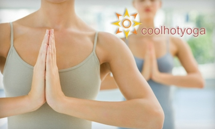 Coolhotyoga - Cresskill: $25 for Four Hot Yoga Classes at Coolhotyoga in Cresskill ($100 Value)