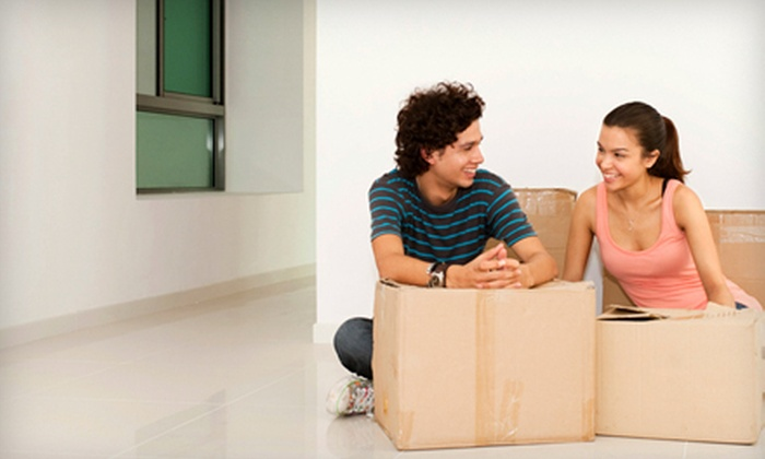 Spade Moving - Los Angeles: $195 for Three Hours of Moving Services with Two Movers and a 26-Foot Truck with Gas and Mileage Fees Included from Spade Moving ($390 Value)