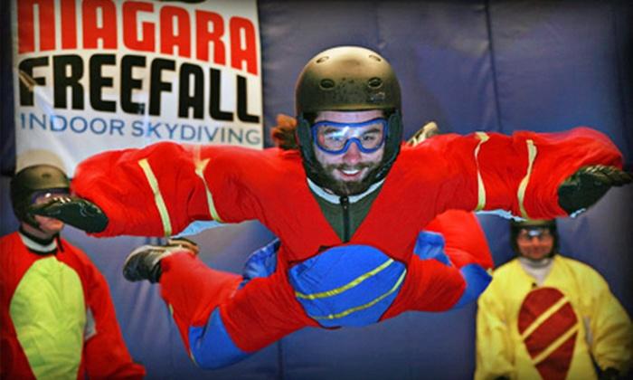 Niagara Freefall and Interactive Center - Niagara Falls: $69 for a Six-Minute Indoor Skydiving Flight at Niagara Freefall and Interactive Center in Niagara Falls ($141.60 Value)