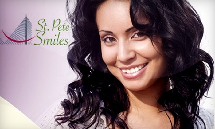 St. Pete Smiles - Jungle Terrace: $49 for a Comprehensive Exam, Digital X-rays, and Cleaning at St. Pete Smiles in St. Petersburg