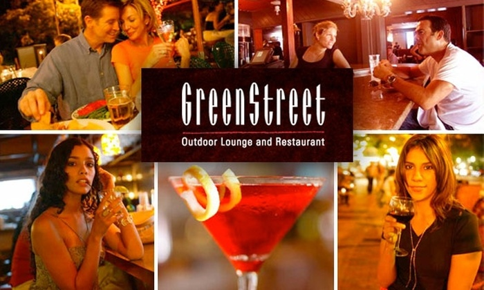 GreenStreet Cafe - Northeast Coconut Grove: $10 for $20 Worth of Dining Al Fresco at GreenStreet Cafe