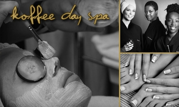 Koffee Day Spa - Downtown Dallas: $70 for a Half-Hour Massage or Facial at Koffee Day Spa