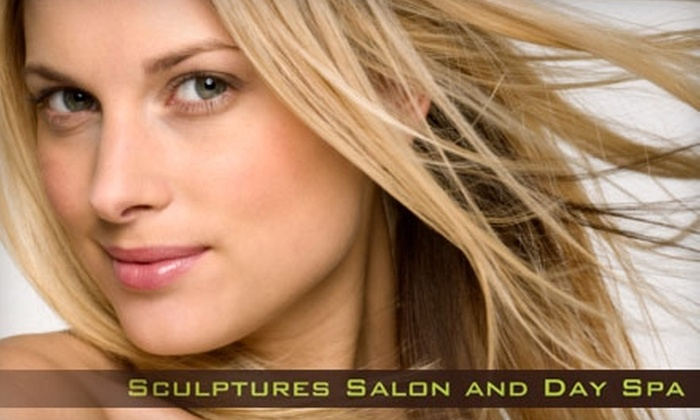 Sheree Maldonado at Sculptures Salon and Spa - Woodland View Park: $69 for a Keratin Express Blowout by Sheree Maldonado at Sculptures Salon and Spa