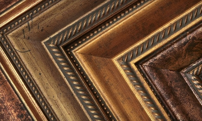 Fairfax Gallery and Framing Establishment - Multiple Locations: $40 for $100 Worth of Custom Framing at Fairfax Gallery and Framing Establishment