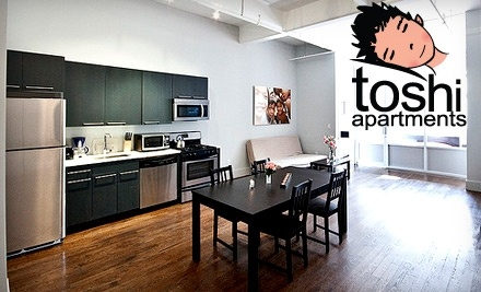 $250 Groupon to Toshi Apartments - Toshi Apartments in New York