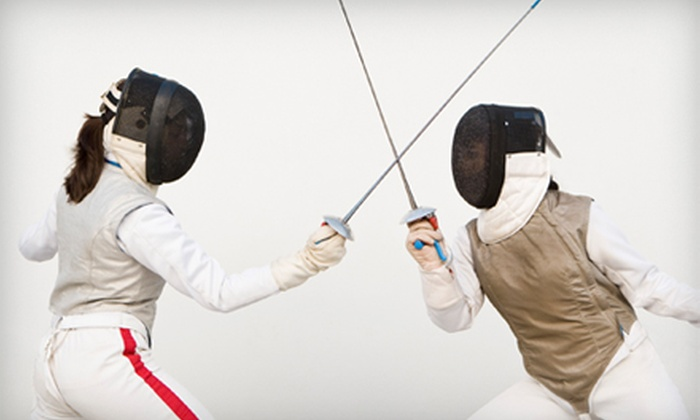 Iowa City Fencing Center - Twain: $12 for an Introduction to Fencing Class at Iowa City Fencing Center ($25 Value)