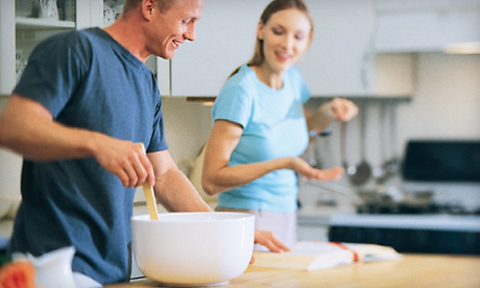 Kids in the Kitchen - Brandermill: $40 for a Saturday-Night Couples Cooking Class for Adults at Kids in the Kitchen in Midlothian ($80 Value)