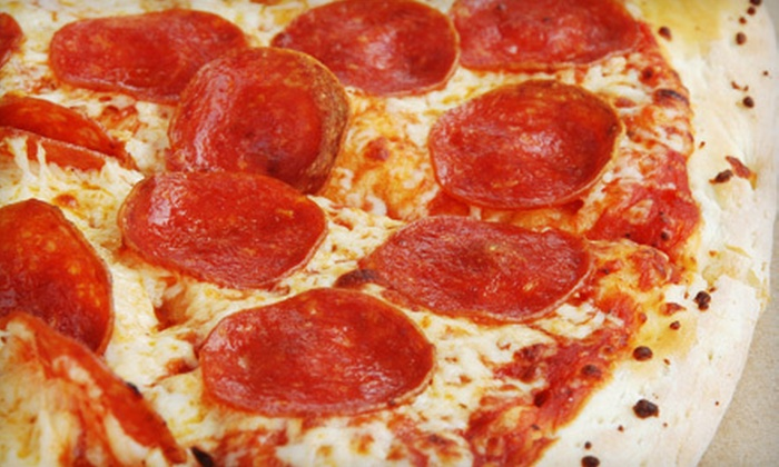 Laguna Pizza - Southwestern Sacramento: $20 for Casual Italian Fare