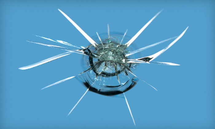 ECO Glass Repair - Multiple Locations: $35 for Up to Three Crack or Chip Glass Repairs at ECO Glass Repair (Up to $297 Value)