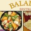 Half Off at Baladas Bistro