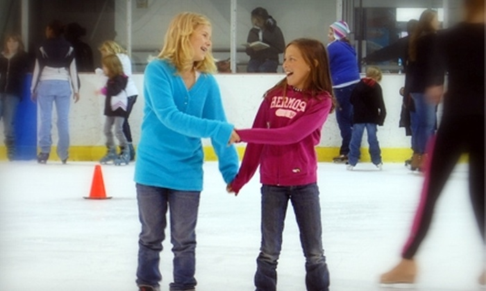 SkateNation Plus - Glen Allen: $7 for Ice Skating, Skate Rental, and 20 Tokens, or a Round of Laser Tag and 12 Tokens at SkateNation Plus in Glen Allen ($15 Value)