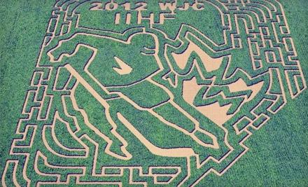 Edmonton Corn Maze - Edmonton Corn Maze in Spruce Grove