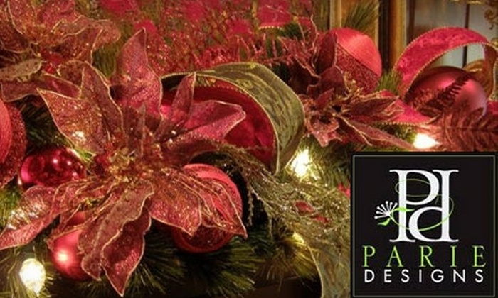 Parie Designs - Amarillo: $30 for $60 Worth of Floral Arrangements at Parie Designs