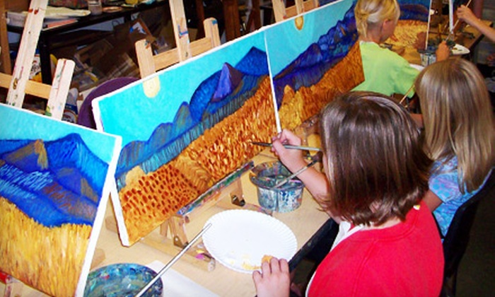 Art House - Diamond Circle Estate: One or Two Canvas-Painting Workshops at Art House in Southlake
