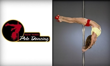 New York Pole Dancing: 1 Intro to Pole Dancing & 1 Climb & Spin Class - New York Pole Dancing in Kalamazoo
