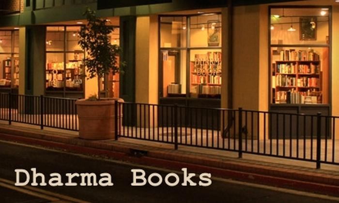 Dharma Books - Downtown Reno: $10 for $20 Worth of Books at Dharma Books