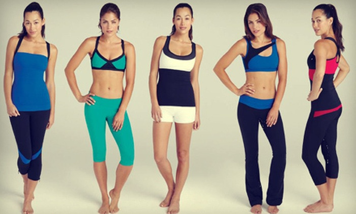 Body Boutique Activewear - Sylvan Lake: $21 for $45 Worth of Women's Yoga and Sports Apparel at Body Boutique Activewear in Sylvan Lake