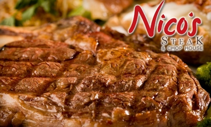 Nico's Steak & Chop House - Otay Ranch: $25 for $60 Worth of Fine Dining & Drinks at Nico's Steak & Chop House