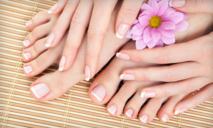 Nails Design - Kent: Mani-Pedi with Foot Massage or Eyelash Extensions at Nails Design in Kent (Up to 60% Off)