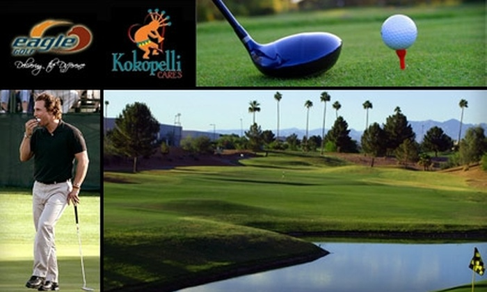 Eagle Golf - Gilbert: $99 for a Silver Eagle Golf Membership Plus Two Rounds of Golf, Two Buckets of Balls, and Two Drinks at Kokopelli Golf Club