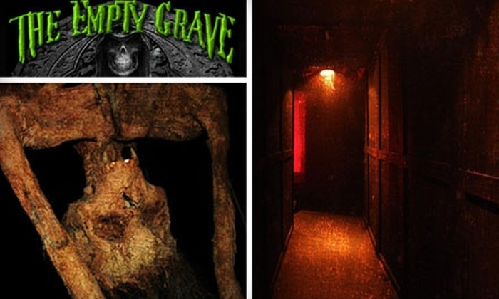 The Empty Grave Haunted House - Disneyland: $14 for Two Tickets to The Empty Grave Haunted House in Anaheim ($30 Value)