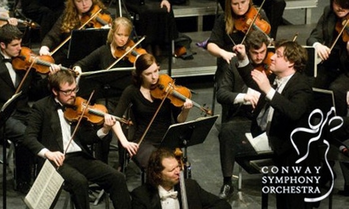"""Conway Symphony Orchestra - Conway: $15 for One Ticket to """"Days in the Orient, Nights in Arabia"""" on November 9 from the Conway Symphony Orchestra"""