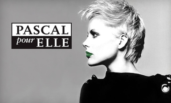 Pascal Pour Elle - Multiple Locations: $110 for  Haircut and Microdermabrasion Facial at Pascal Pour Elle ($205 Value)