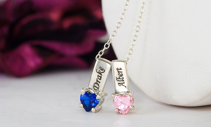 bd85acd9b908c Up To 90% Off on Mother's Necklace with Charm | Groupon Goods
