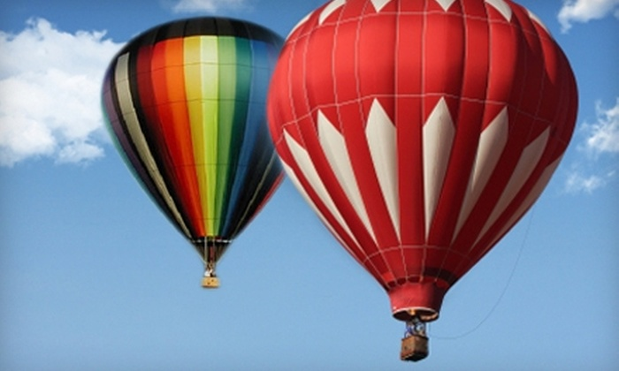 Boise Hot Air Company - Boise City: $98 for a Hot-Air Balloon Ride from Boise Hot Air Company