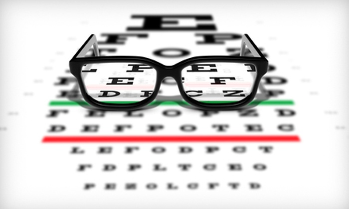 Envision Optical - Southeast Boise: $65 for an Eye Exam and $100 Toward Glasses, Sunglasses, or Contacts at Envision Optical ($215 Value)