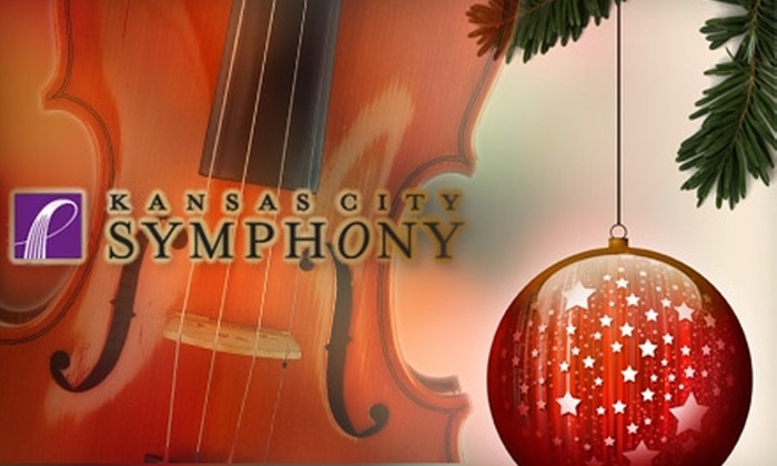 Kansas City Symphony - Central Business District - Downtown: $32 for a Ticket to the Kansas City Symphony's Christmas Festival on December 17, 18, or 19 (Up to $65 Value)