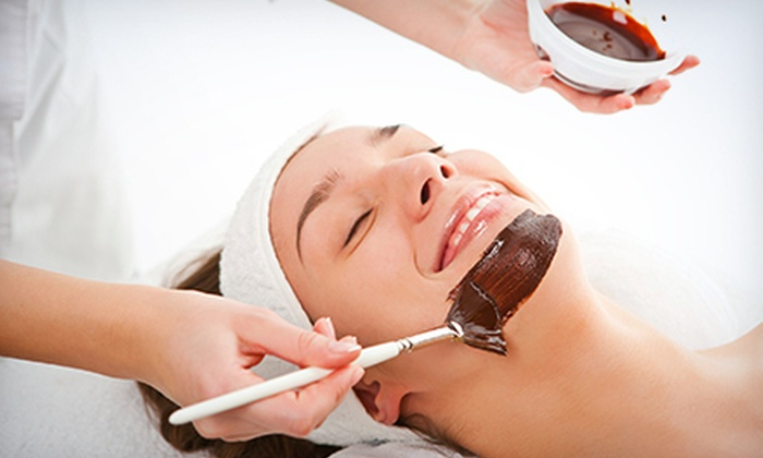 Elements Natural Therapy - Camelback East: One or Two Microcurrent Facials with Chocolate Mask and Collagen Infusion at Elements Natural Therapy (Up to 72% Off)