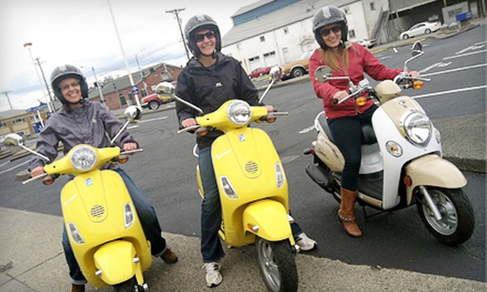 NW Motor Scooters - Tacoma: Three-Hour Scooter Adventures, Plus $500 Off an Optional Scooter Purchase, from NW Motor Scooters in Tacoma